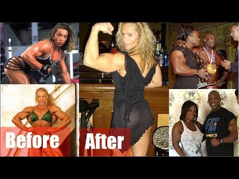 What happens when female bodybuilders retire? Part#2