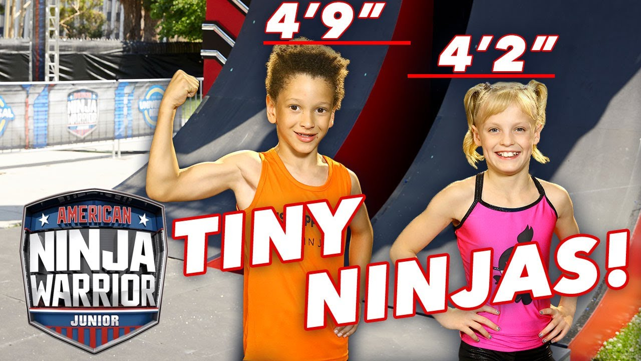 TINY NINJAS with CRAZY FAST RACES! | American Ninja Warrior Junior | Universal Kids
