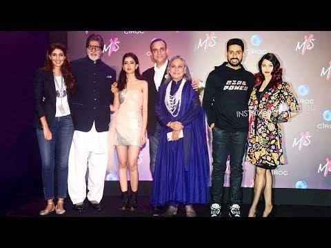 Full Bachchan Family TOGETHER At Amitabh's Daughter Shweta's Store Launch- Aishwarya,Abhishek,Jaya
