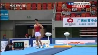WANG Haoran (Shandong) - 2014 CHN Nationals MAG VT EF