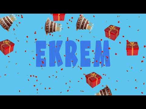 İyi ki doğdun EKREM - İsme Özel Ankara Havası Doğum Günü Şarkısı (FULL VERSİYON) (REKLAMSIZ)