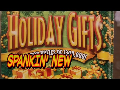 NEW $10 Holiday Gifts. PA LOTTERY Christmas SCRATCH TICKETS