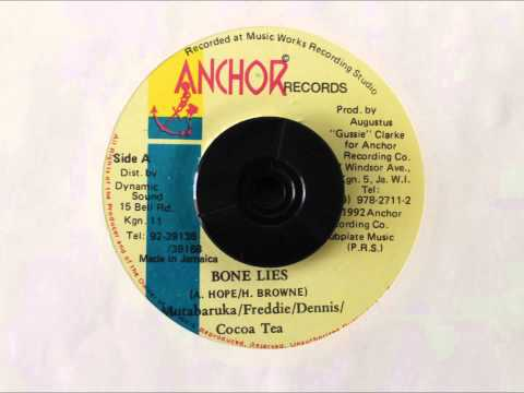 MUTABARUKA & FREDDIE MC GREGOR & DENNIS BROWN & COCOA TEA - BONE LIES