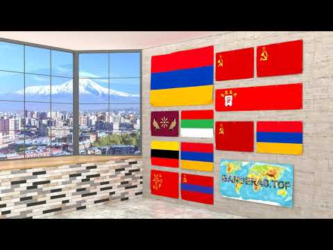 Himno y banderas de Armenia | Armenia flags and anthem