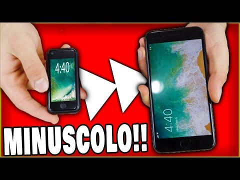iPHONE PER LE FORMICHE!! - L'iPhone più piccolo al Mondo!!