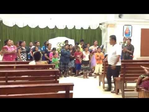 Happy Easter at Kapingamarangi church 042015 2372