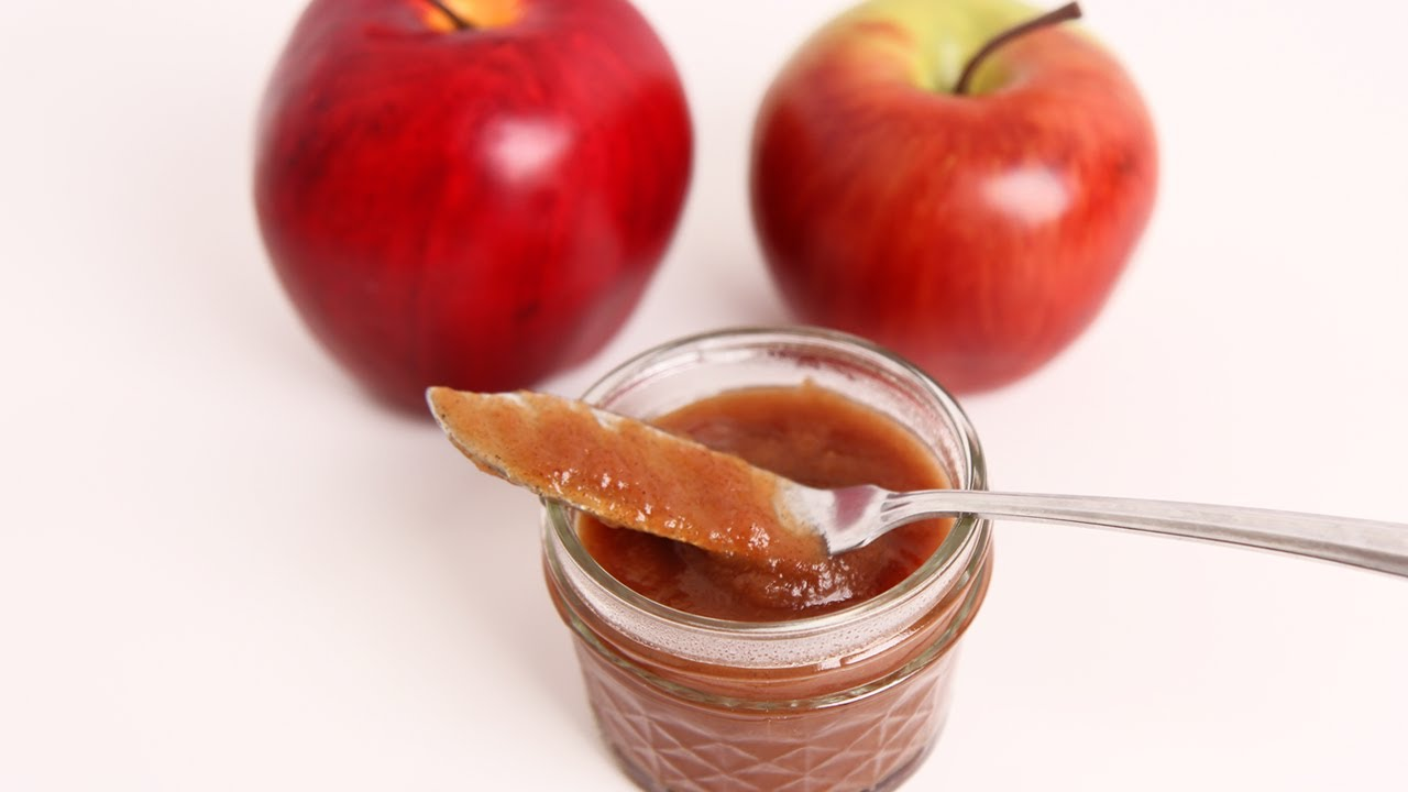Homemade Apple Butter Recipe - Laura Vitale - Laura in the Kitchen Episode  24