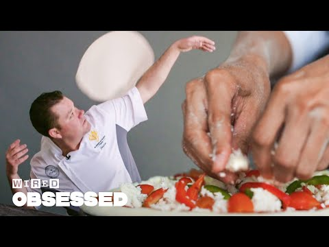 How This Guy Became a Pizza Spinning World Champion | Obsessed | WIRED