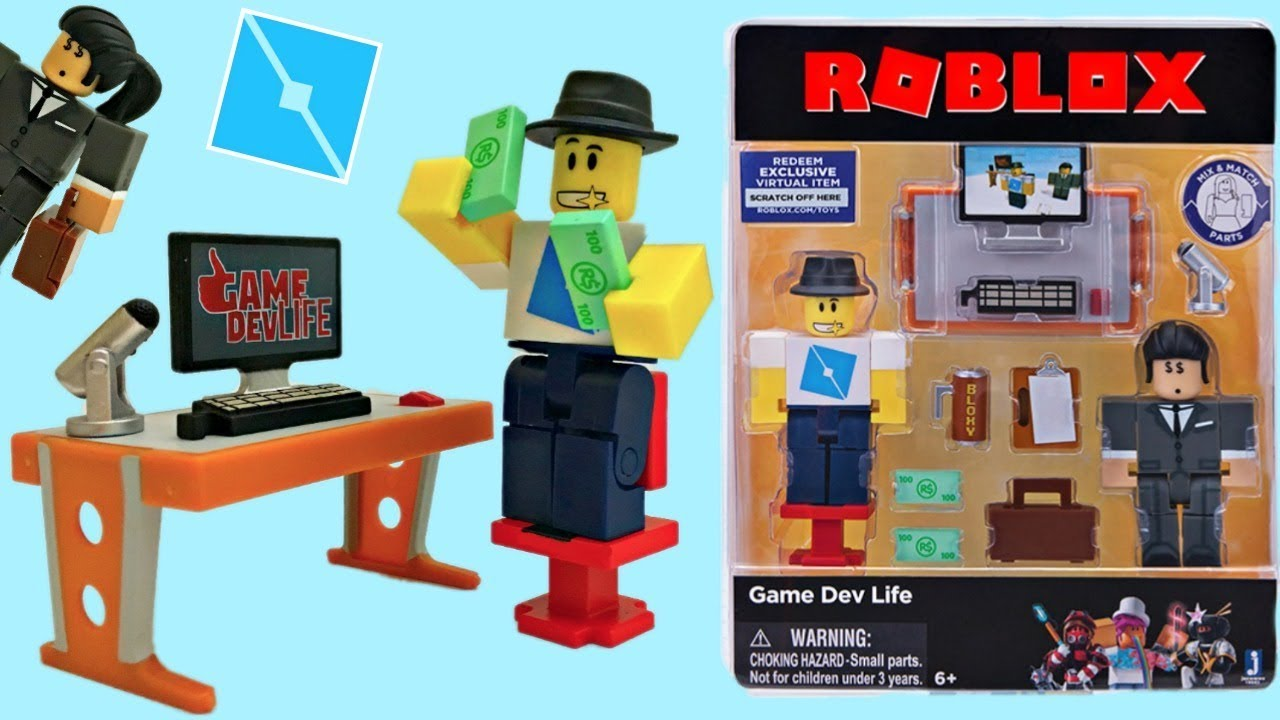 Roblox Toy Game Dev Life Code Item Unboxing Toy Review Youtube
