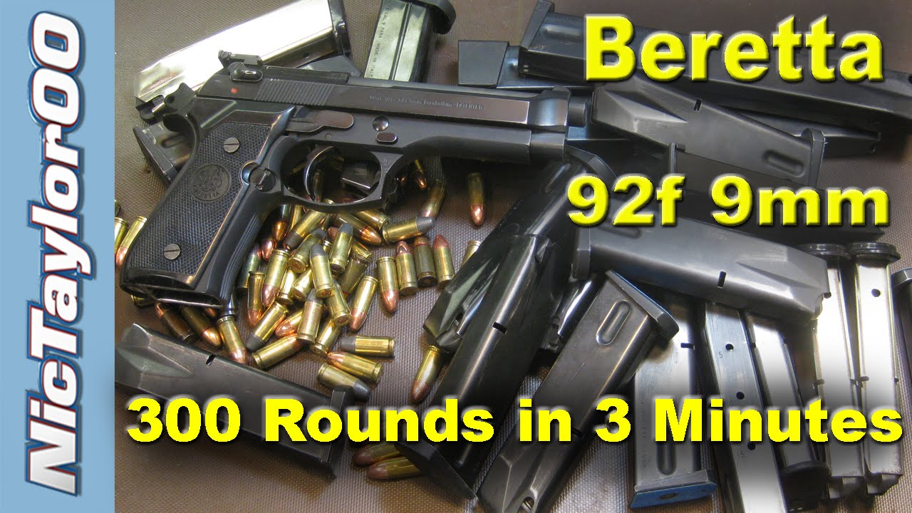 100 Rounds Per Minute with the Beretta 92
