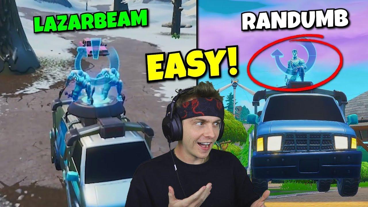 I Used Lazarbeam S Meme To Win In Fortnite 100 Easy Youtube