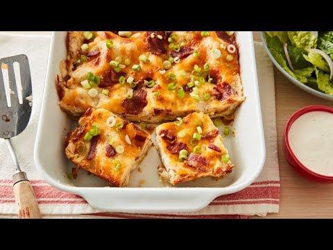 Chicken Bacon Ranch Lasagna | Betty Crocker Recipe