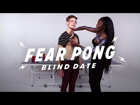 Blind Dates Play Fear Pong (Matt vs. Saysaw) | Fear Pong | Cut