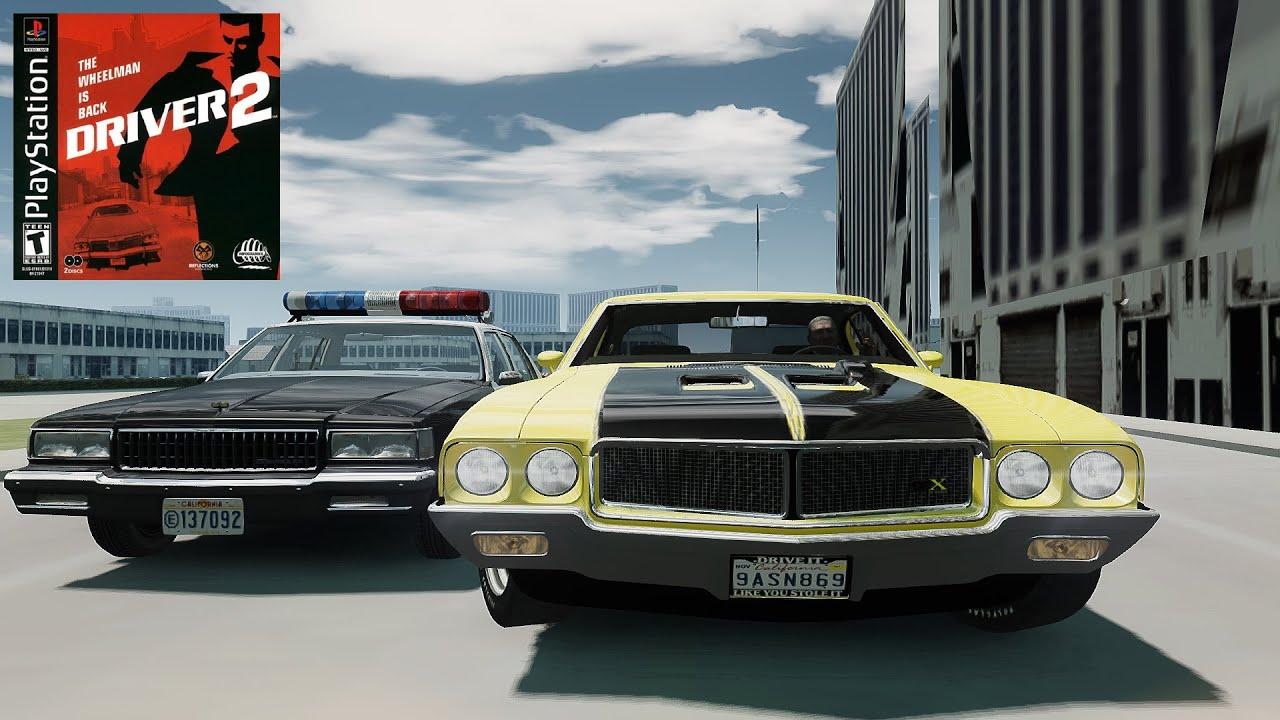 GTA Driver 2 Las Vegas map mod GTA Driver 2 cars mods - YouTube