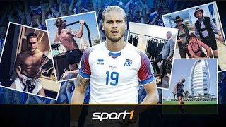 Dieser Isländer lässt das Netz durchdrehen | SPORT1 - WM 2018 thumbnail