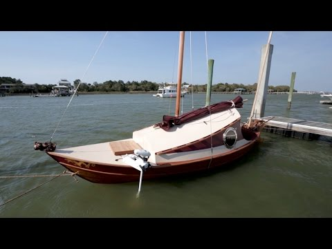Charleston's First Chinese Junk Rig Boat Revealed!