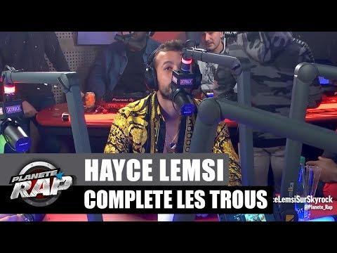 Youtube: Hayce Lemsi complète les trous #PlanèteRap