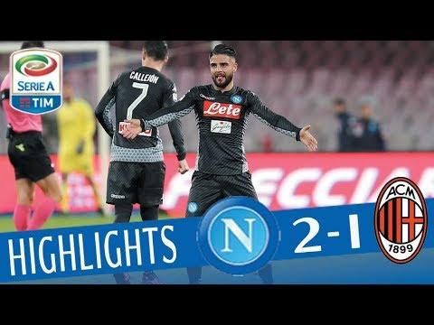 Napoli - Milan 2-1 - Highlights - Giornata 13 - Serie A TIM 2017/18