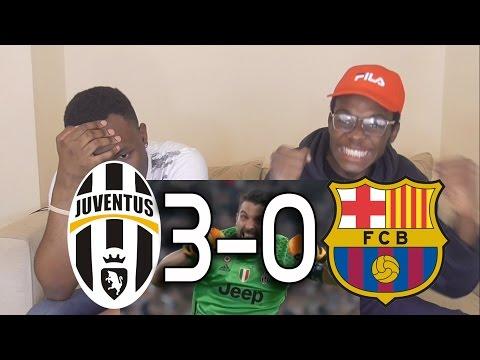 Juventus vs Barcelona 3-0 - All Goals & Highlights - Champions League:Barcelona Fans React