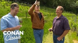 Conan Goes Wine Tasting In Napa Valley  'Late Night With Conan O'Brien'