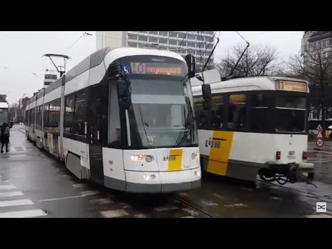 De Lijn Antwerpen Premetro en Tram