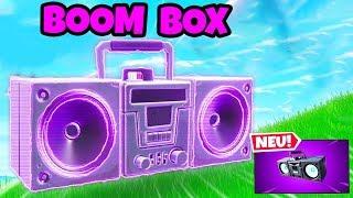 SO spielt man die neue BOOM BOX in Fortnite!
