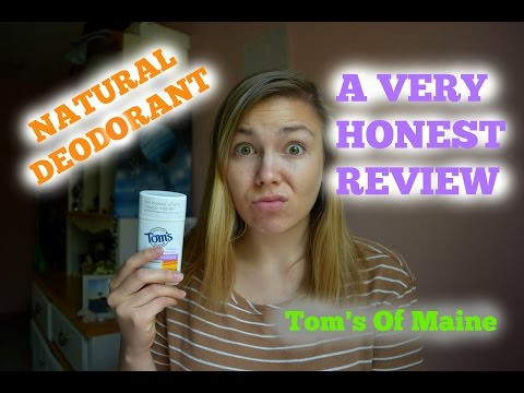 Tom's Of Maine Deodorant HONEST REVIEW