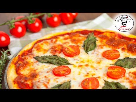 Margherita Pizza Nasıl Yapılır ? | Margherita Italian Pizza - Sonradan Gurme