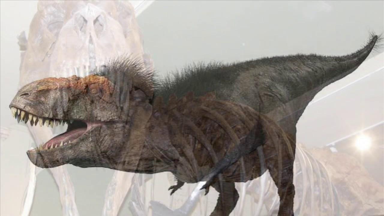 T-Rex vs Songhua River mammoth! - YouTube