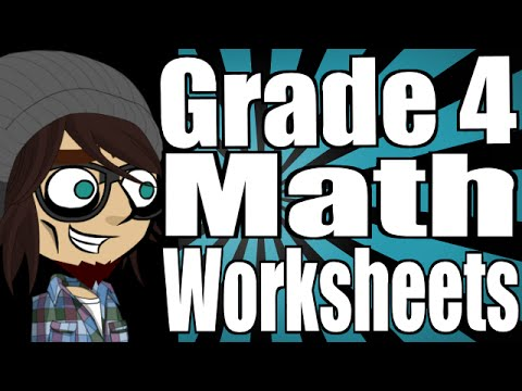 Grade 4 Math Worksheets and Lessons