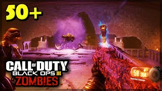 "Black Ops 3 ZOMBIES ""Shadows of Evil"" ROUND 50+ SOLO STRATEGY! (Black Ops 3)"