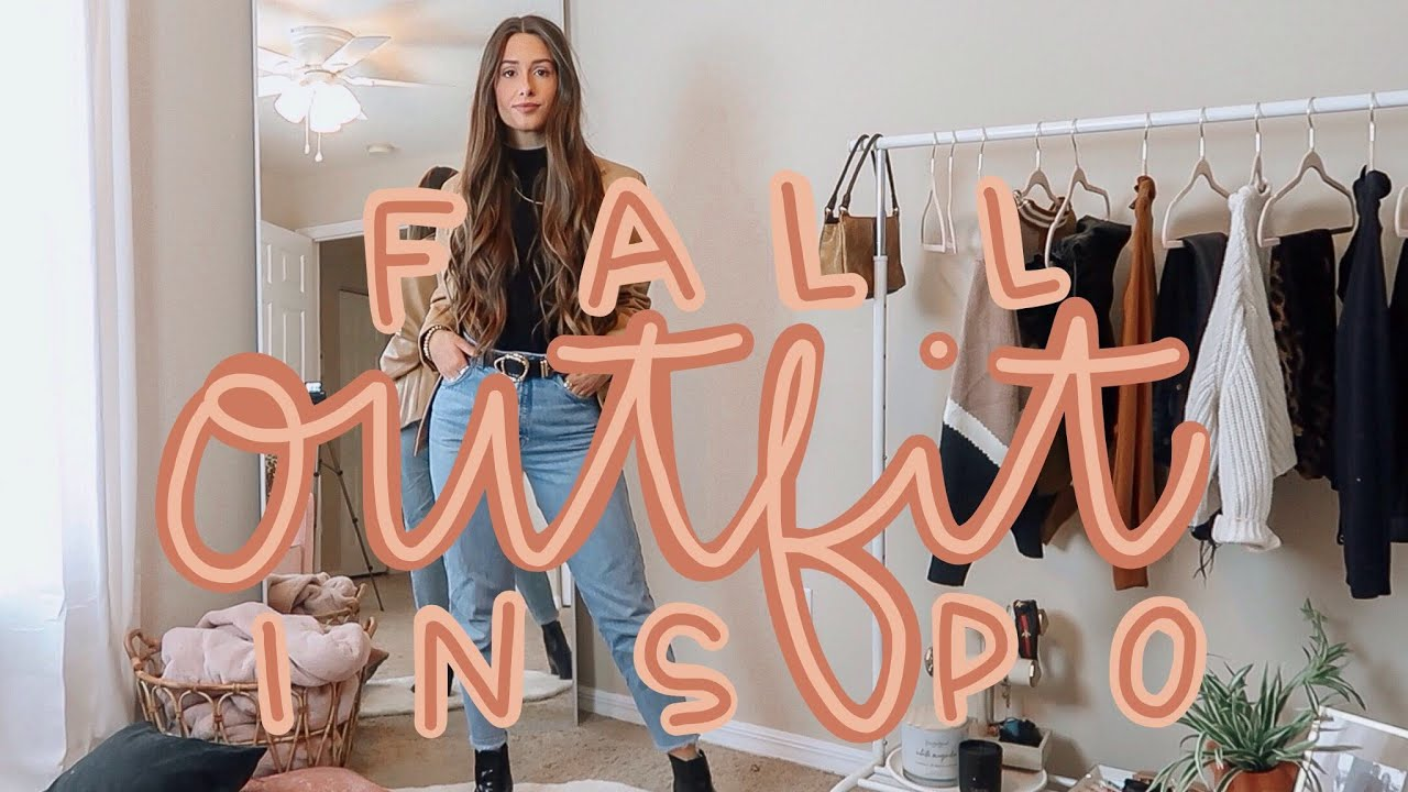 [VIDEO] - FALL OUTFIT IDEAS | TRENDY & CASUAL 2