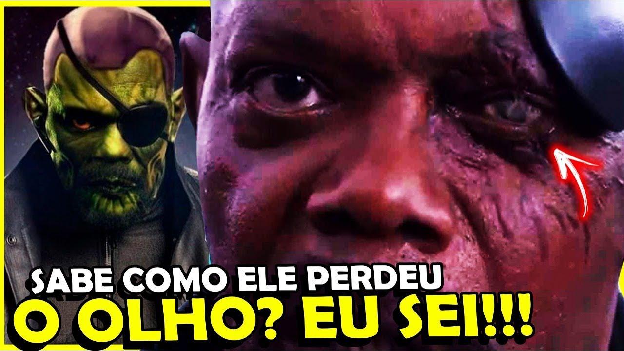 DESCOBRI COMO NICK FURY PERDE O OLHO EM CAPITÃ MARVEL