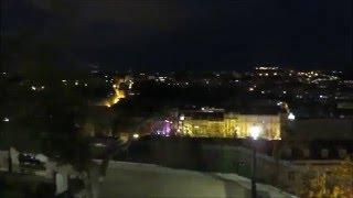 サン・ペドロ・デ・アルカンタラ展望台から眺めたリスボンの夜景
