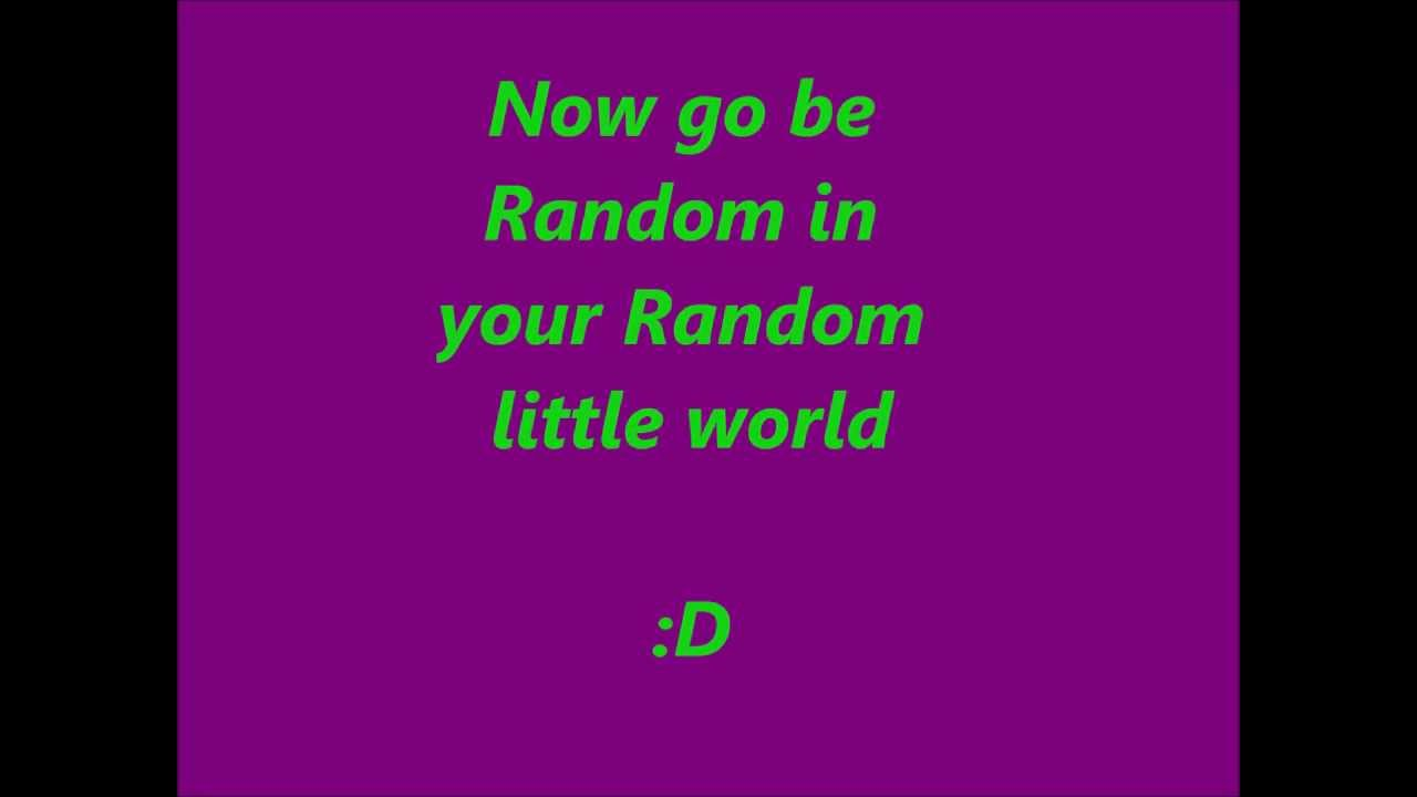Random Things to Say When Your Bored - YouTube