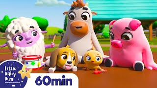 Down At The Farm + More Nursery Rhymes & Kids Songs - Little Baby Bum