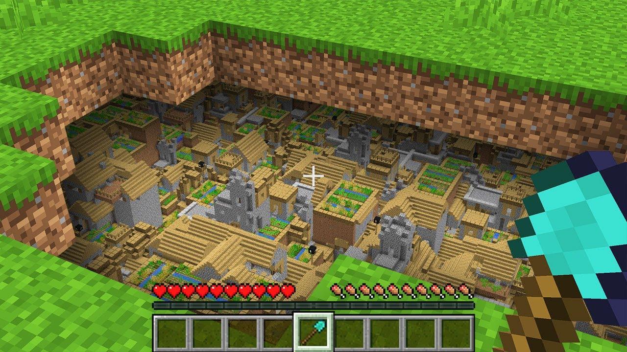 HOW NOOB FOUND INFINITY VILLAGE UNDERGROUND!? Minecraft NOOB vs PRO! 100% TROLLING SECRET TRAP BASE
