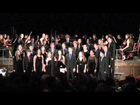 "Amherst Regional High School Chorale - ""Sleigh Ride"""