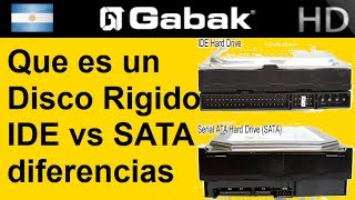 ¿Qué es un disco rígido? IDE vs SATA y sus diferencias