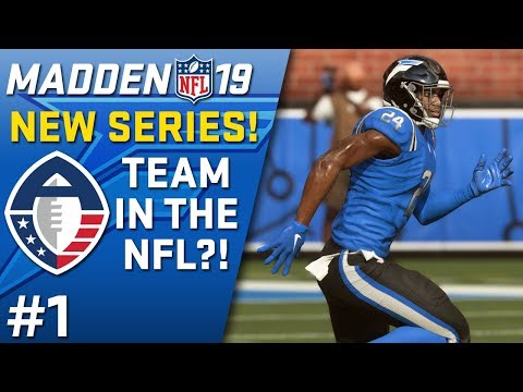 ALLIANCE OF AMERICAN FOOTBALL (AAF) TEAM IN THE NFL?! | Madden 19 Franchise Rebuild (Ep. 1)
