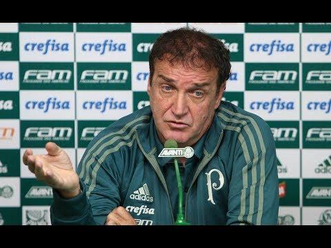 Coletiva do técnico Cuca - Palmeiras 1 x 0 Atlético-GO