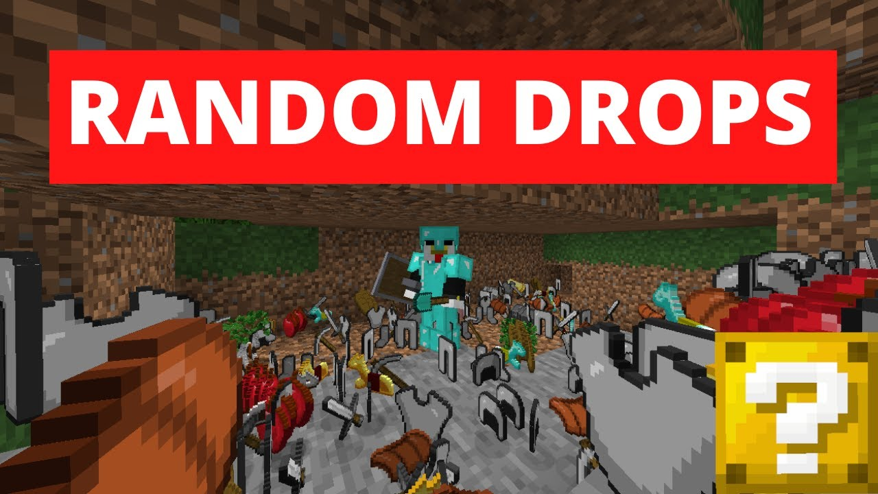 Minecraft But Everything Is Random Youtube