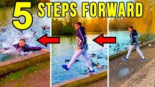 Gambar cover 5 STEPS FORWARD CHALLENGE!!! (HE RISKED EVERYTHING)