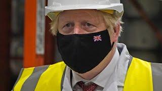 video: Boris Johnson suggests he sacked Matt Hancock
