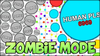 AMAZING MLG MOMENT- AGARIO ZOMBIE MODE (NEW GAMEMODE!) (MOST ADDICTIVE GAME - AGAR.IO #41)