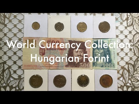 World Currency Collection: Hungarian Forint 🇭🇺