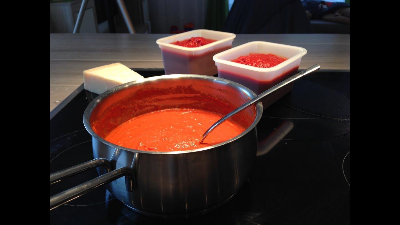 Tomatensoße rezept passierte tomaten