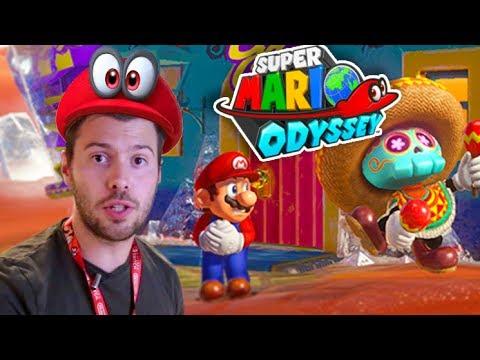 SUPER MARIO ODYSSEY - GAMEPLAY DEMO E3 - FRANCAIS - MONDE 1