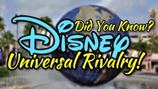 Disney vs. Universal!   Did You Know Disney?