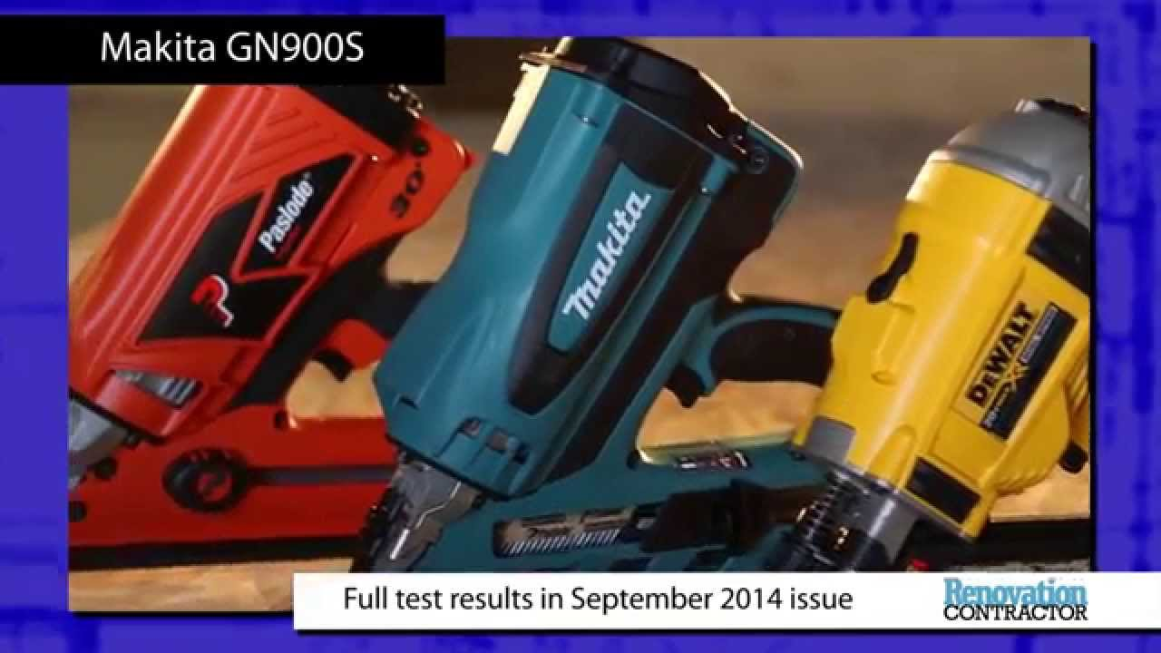 renovation contractor cordless framing nailer tool test makita gn900s